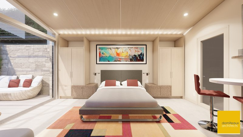 4 Private Contemporary Cottages on Private Peninsula w/Dock, Swimming Pool, aluguéis de temporada em Malakoff
