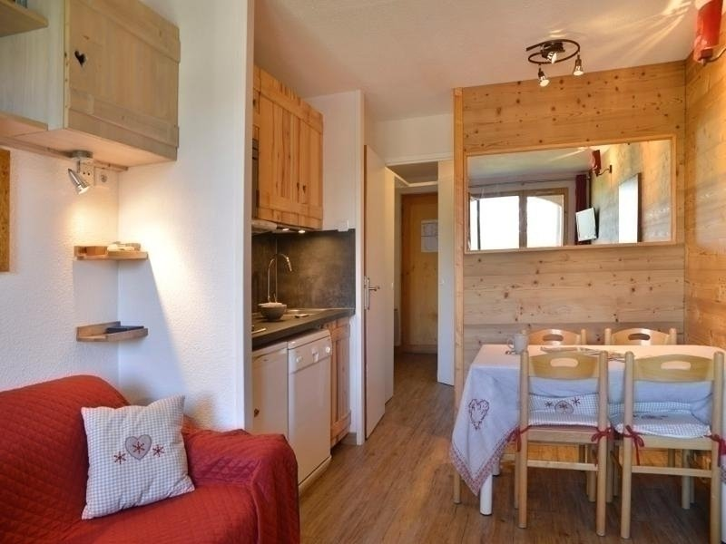 Recently renovated studio for 4 people of 24 m² at the foot of the slopes Chalet in La Plagne