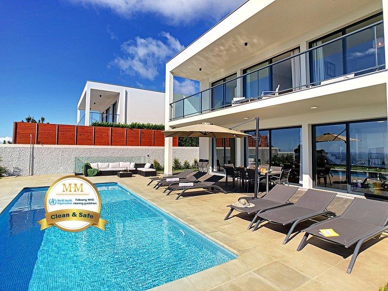Villa Relaxing View by MHM, casa vacanza a Prazeres