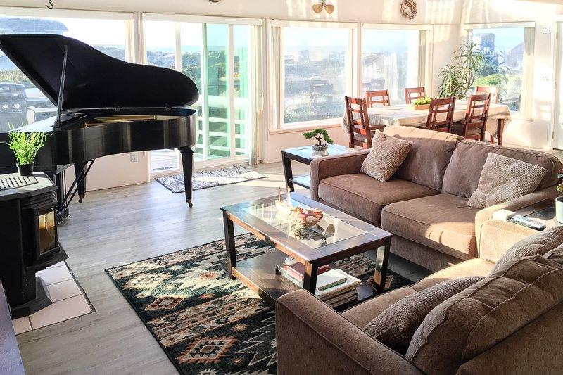 Towering, dog-friendly getaway w/ a full kitchen, furnished balcony, & game room, aluguéis de temporada em Wedderburn