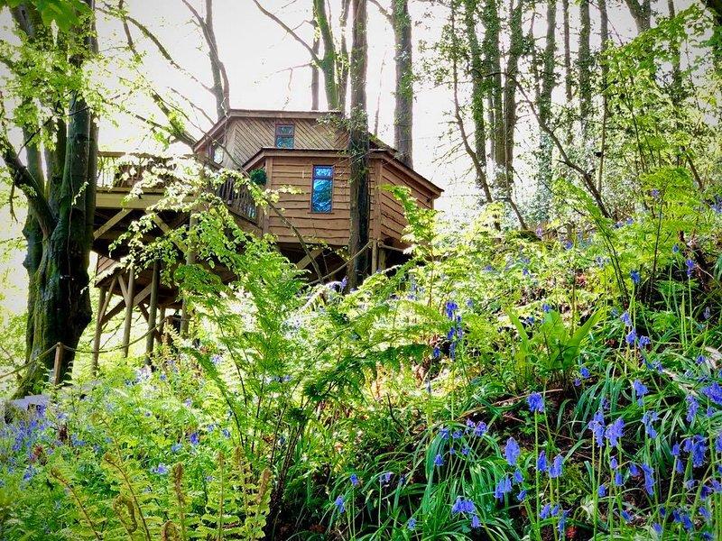 Luxurious Treehouse on the North Devon Coast, location de vacances à Ilfracombe
