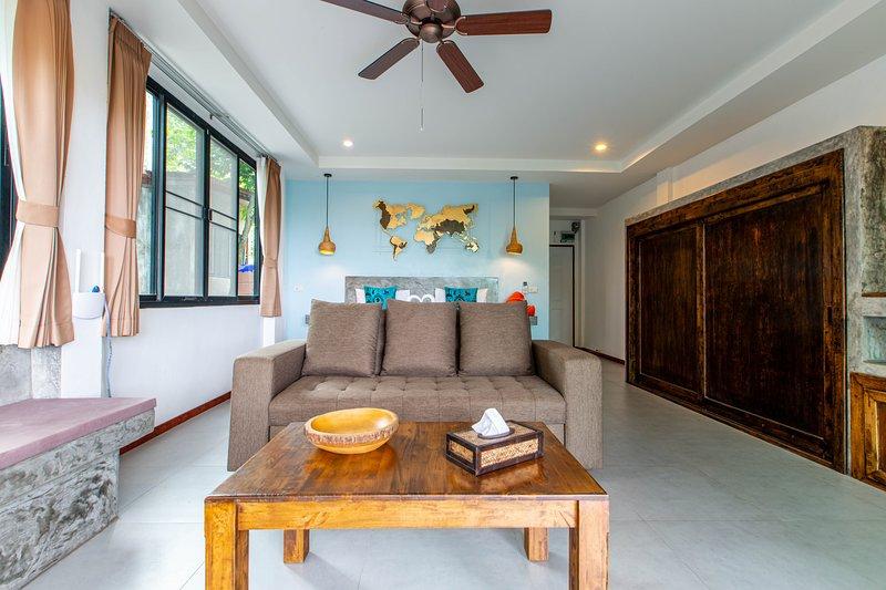 Beach suite apartment with sea view 7, alquiler vacacional en Ban Thong Nai Pan