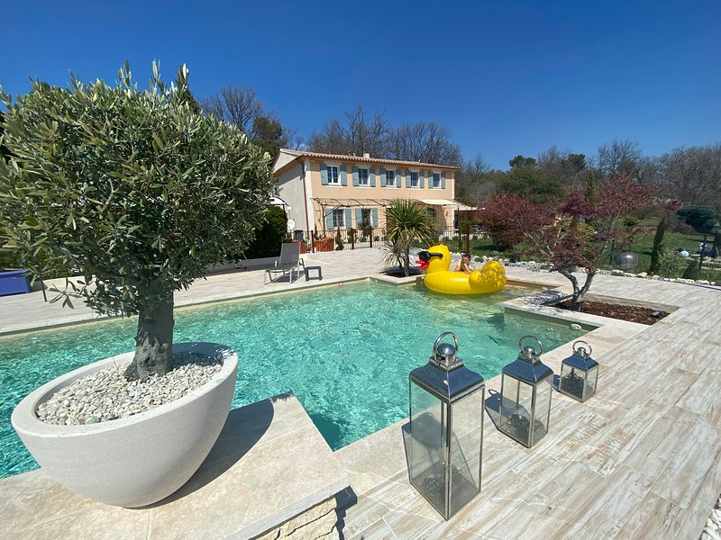 Amazing villa with swimming-pool, holiday rental in Murs