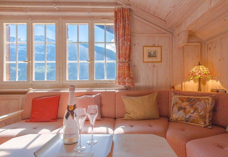 Chalet Irene Penthouse, holiday rental in Lauterbrunnen