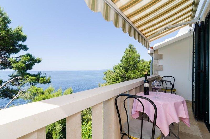 Apartments Plavac Mali- Two Bedroom Apartment with Balcony and Sea View, aluguéis de temporada em Potomje
