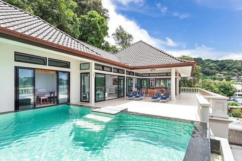 ๊Ultimate Beachfront Panoramic Tai Pan Villa Cape Panwa, Phuket Thailand, holiday rental in Phuket Town