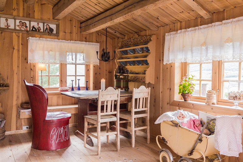 Small cabin, big experience  in Ramstadbue every item is a little story in itself