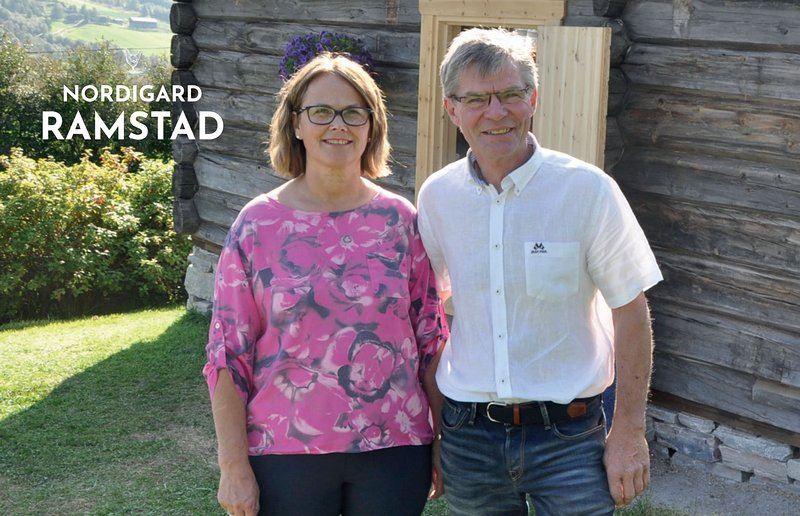 Gudrun and Odd Joar Ramstad are your hosts during your stay at Nordigard Ramstad. Welcome!