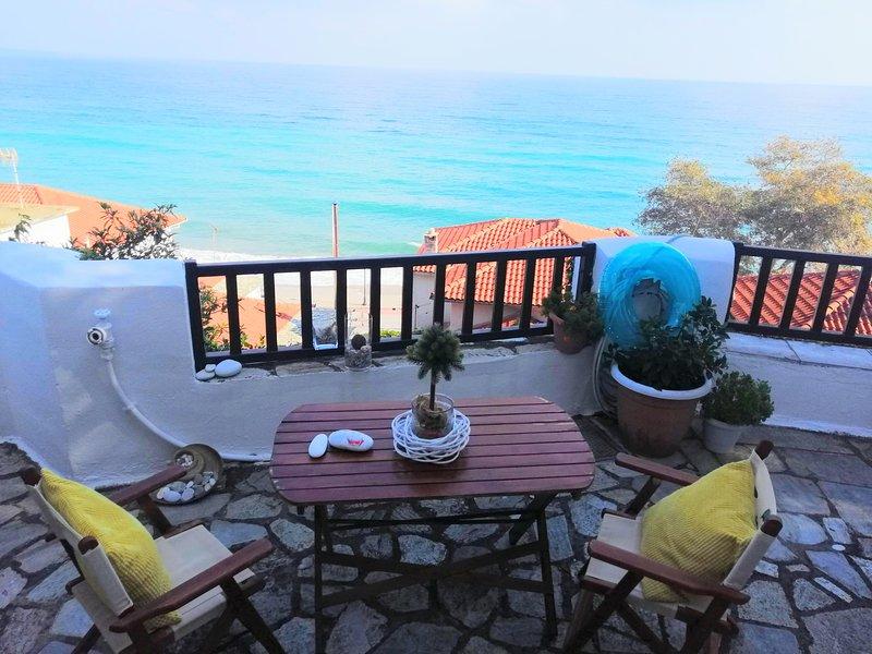 Ocean Blue Residence Agios Ioannis Pelion, casa vacanza a Makrirrachi