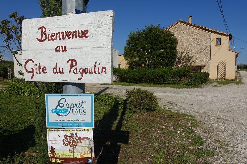 Gîte du Pagoulin - 3 étoiles - 57m2 - Rdc maison de charme, calme, campagne, location de vacances à Hyères