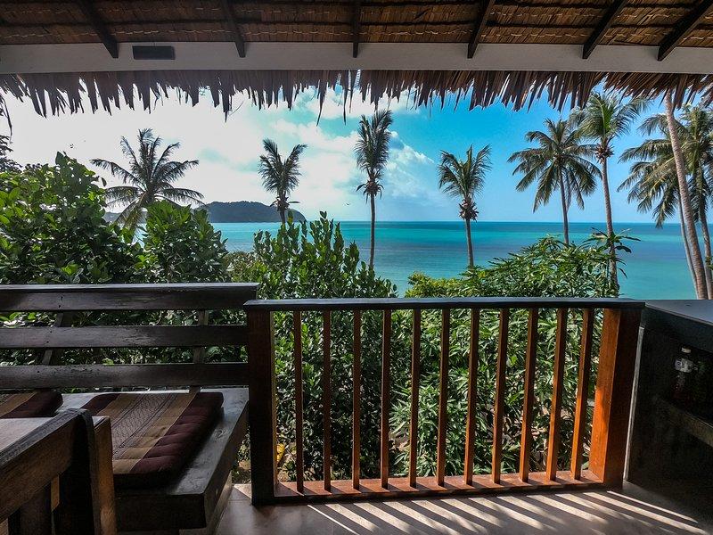 Cozy beachfront apartment, alquiler vacacional en Ban Thong Nai Pan