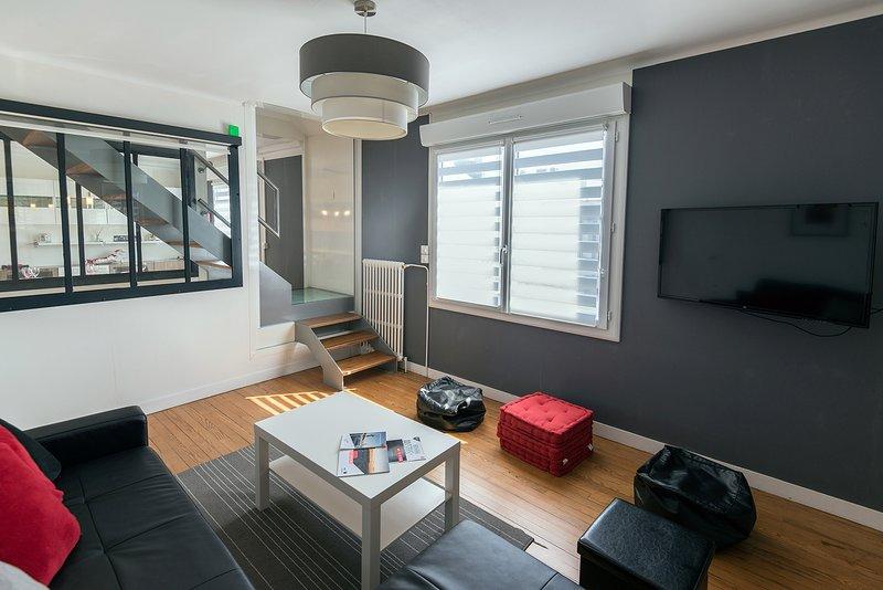 Gite Brest Au bout du ponton, 4 étoiles, 4 chambres, 5 lits, 150m2, 8 personnes, location de vacances à Brest
