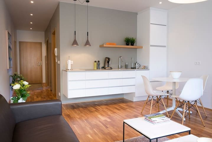Luxury CITY CENTRE apt - Free WiFi & Parking, vacation rental in Seltjarnarnes