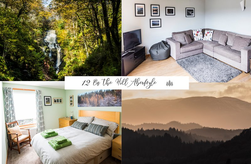 12 On the Hill, Aberfoyle Fab village location in scenic Lomond/Trossachs, holiday rental in Loch Lomond and The Trossachs National Park