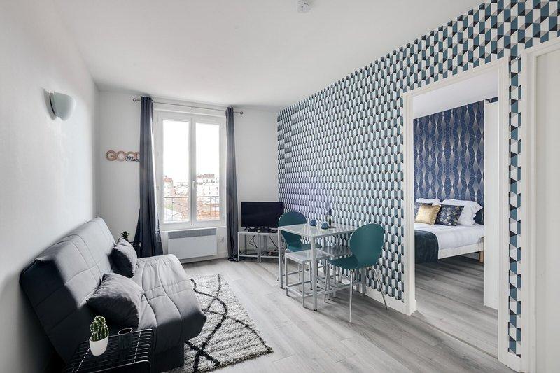 806 Suite Magic, Beautiful APT, Door of Paris, aluguéis de temporada em Bagnolet