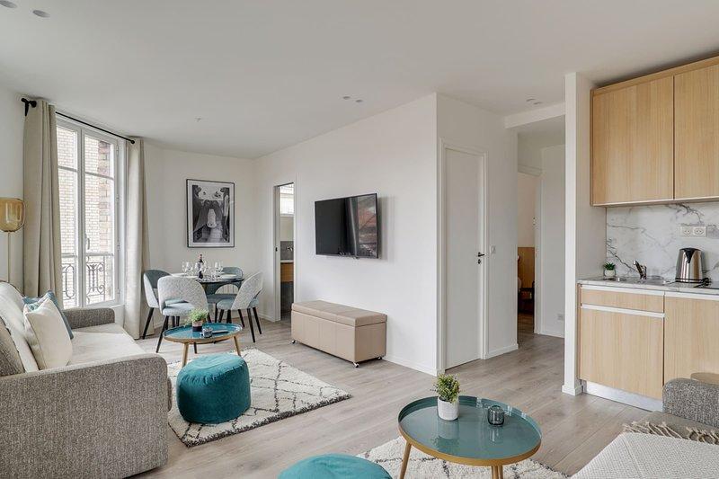 159 Suite Margot, Great 1 BDR APT, New, Paris, casa vacanza a Gentilly