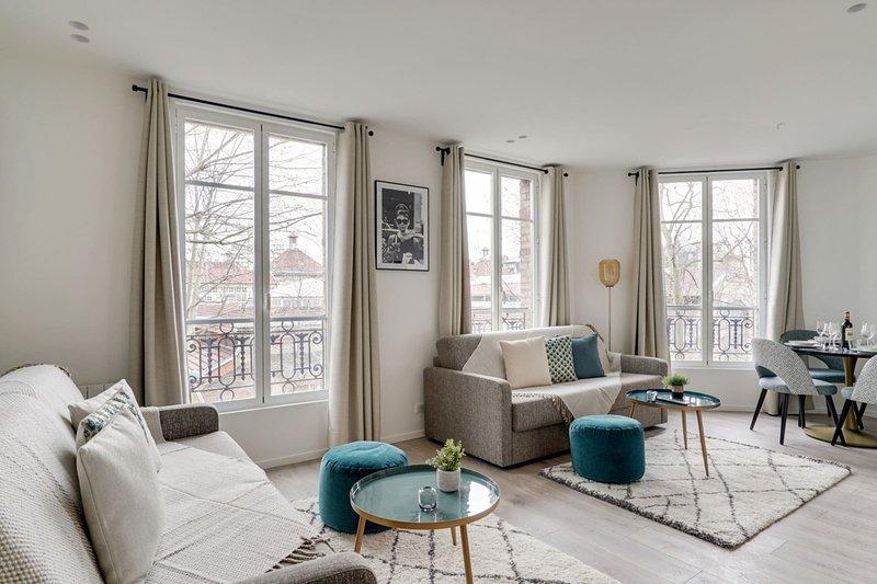 155 Suite Georges, Marvelous 1 BDR APT, New, Paris, casa vacanza a Gentilly