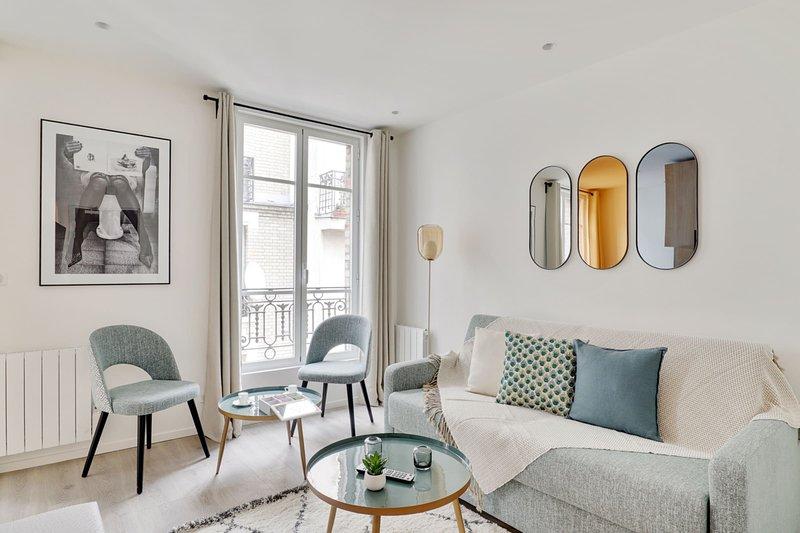 160 Suite Eve, Brand new, 1 BDR APT, Paris, casa vacanza a Gentilly