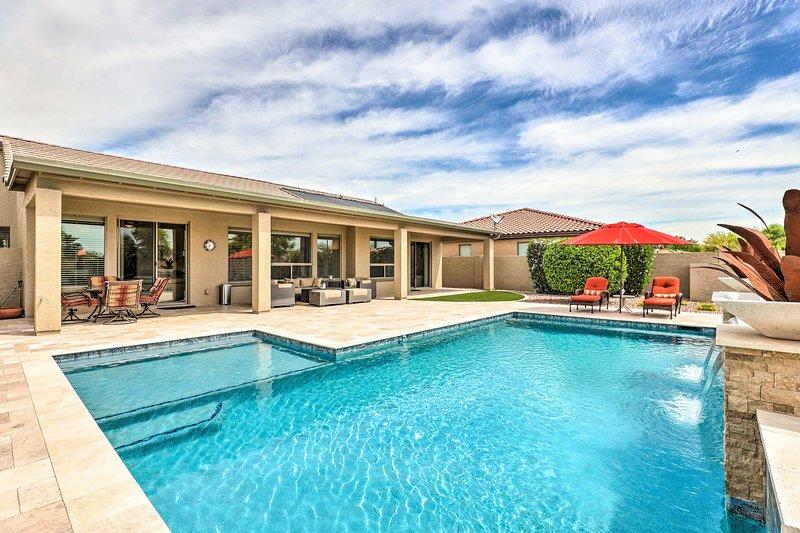 NEW! Lavish Pebblecreek Home w/ Pool+Resort Access, vacation rental in Litchfield Park