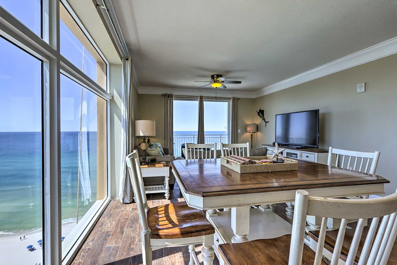 Enjoy ocean views inside and out during your stay!
