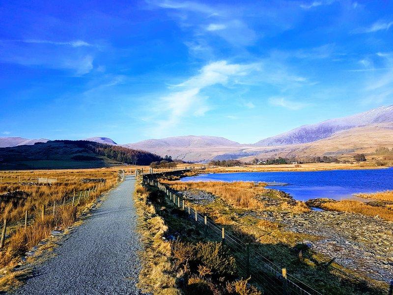 Cefnan, Rhyd Ddu, Snowdonia, holiday rental in Nant Gwynant