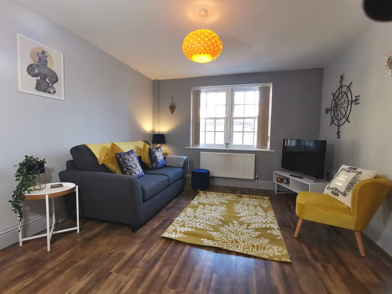 George Hudson Court, Monkgate, private, secure one bed ground floor apartment, holiday rental in Huntington