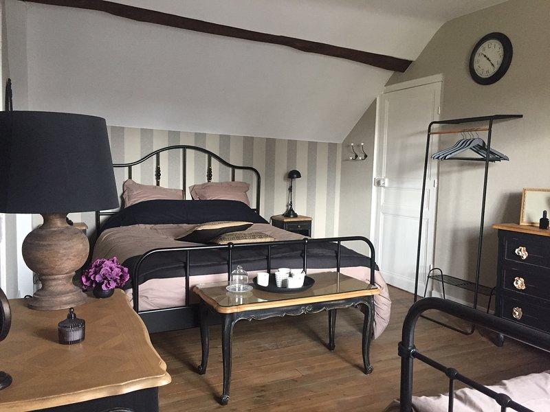 Chambre d'hôtes 3* piscine et petits déjeuner au coeur des châteaux de la Loire, location de vacances à Cellettes