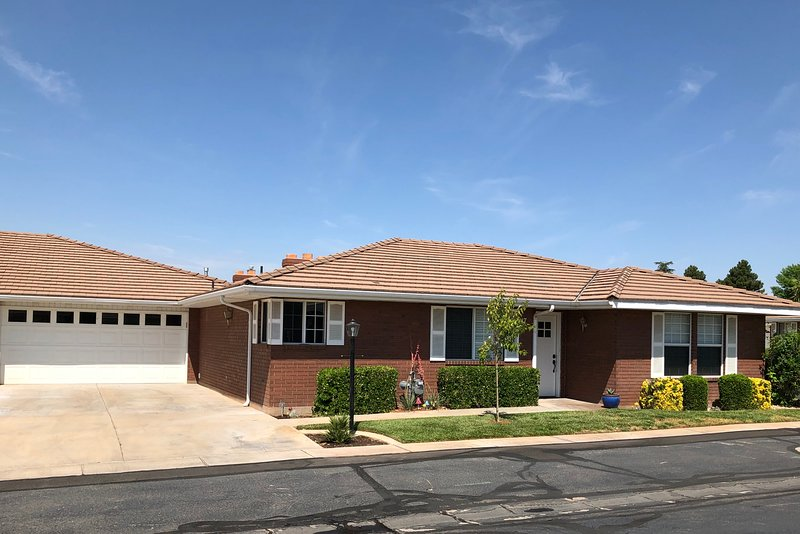Beautiful Single Level Home with extra large 2 car garage.
