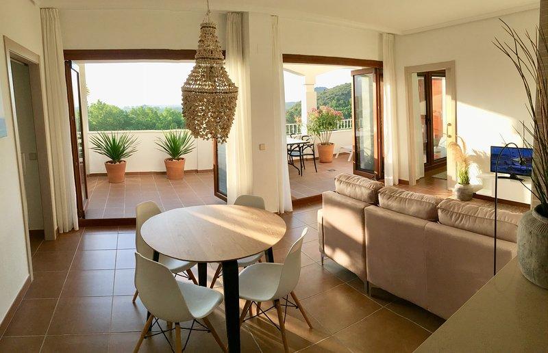 Casa Mas -Apartamento (Costa Valenciana) de lugo con vista a naturaleza y al mar, holiday rental in Simat de la Valldigna