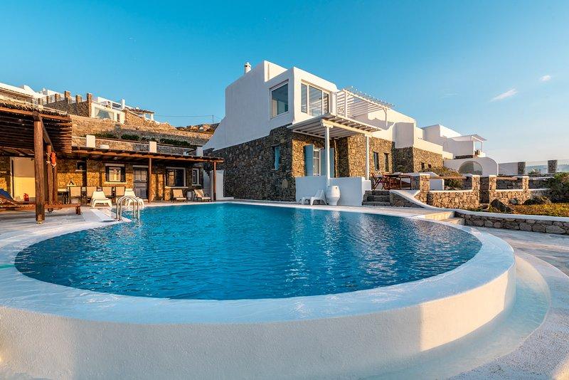 Sunset Villa Iza, location de vacances à Agios Ioannis