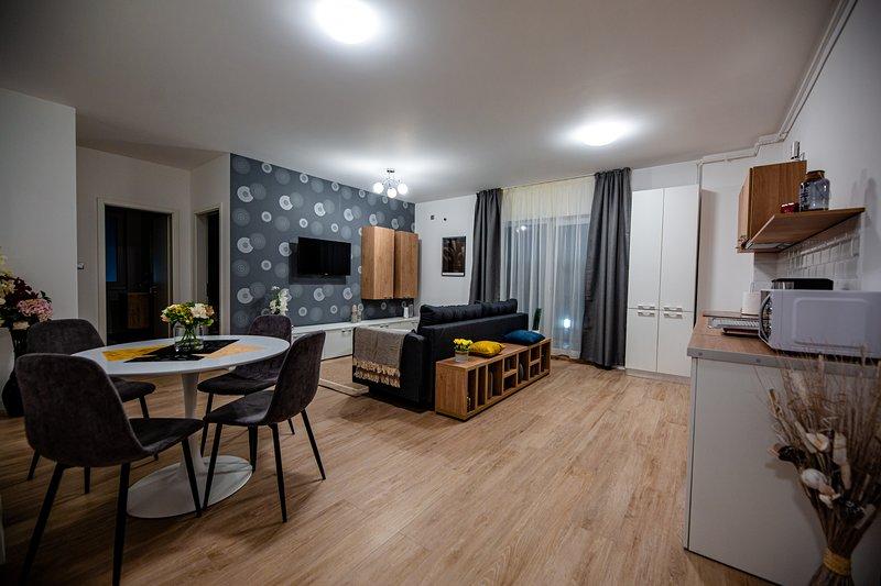 Deluxe apartment in the city centre of Cluj-Napoca, location de vacances à Bontida
