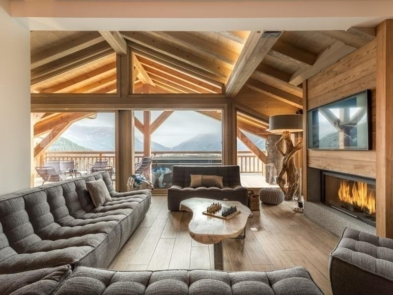 LUXUEUX CHALET AVEC SPA, holiday rental in Montvalezan
