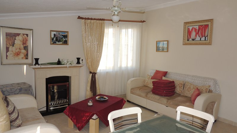 Duplex Penthouse close to the famous temples of Apollon (JM), holiday rental in Altinkum