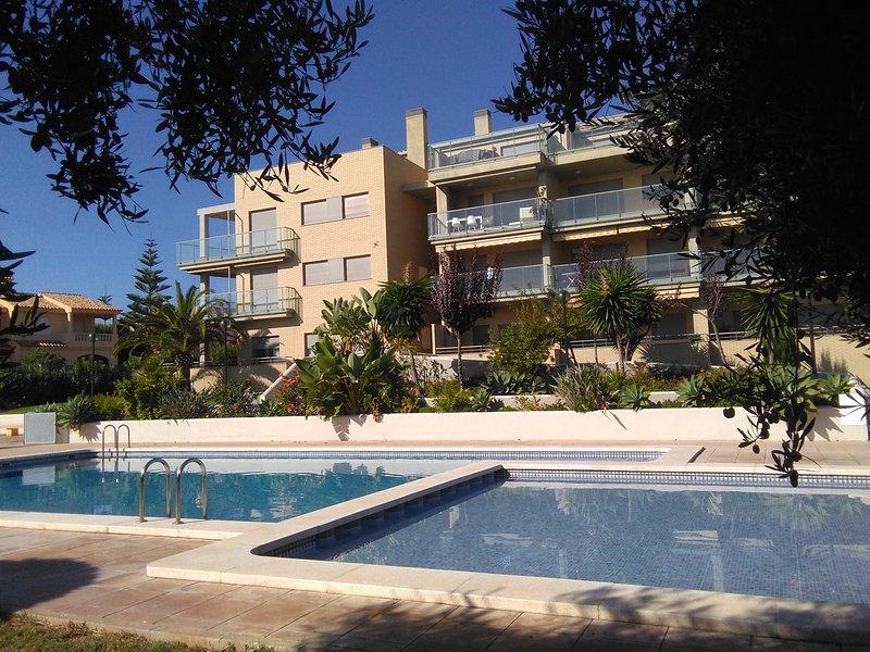 Alcossebre. Zona tres playas. Precioso apartamento. A 50 metros de la playa., alquiler vacacional en Torreblanca