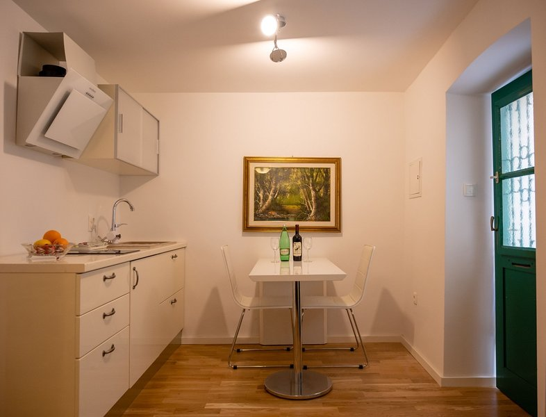 Charming kitchenette with dining area