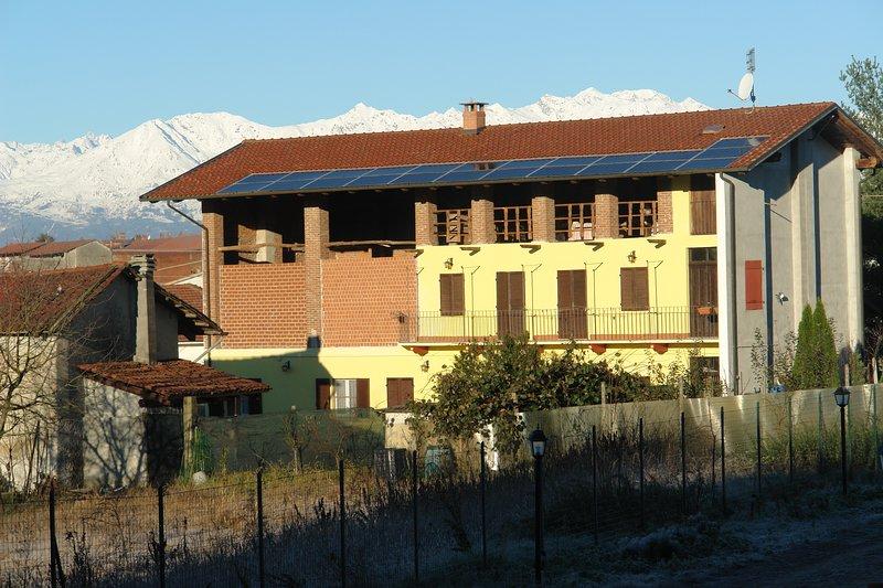 Azienda agricola sperimentale B&B Cascina Pozzo Forte, Ferienwohnung in Gravere