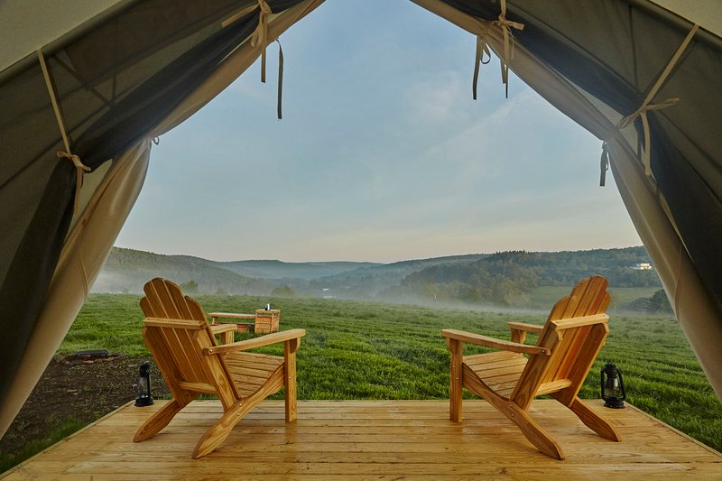 Tentrr Signature Site - Mountain Top Camp at Greenane, vacation rental in Bloomville