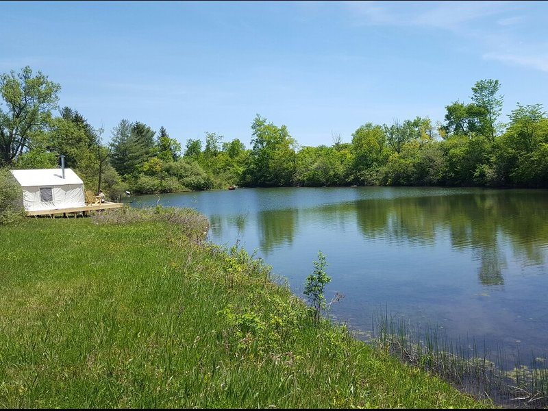 Tentrr Signature Site - Sand Hill Farm, holiday rental in Canajoharie