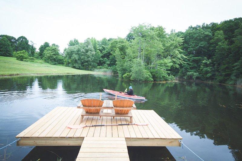 Tentrr Signature Site - Vista Valley Pond Campsite 1, alquiler de vacaciones en Red Hook