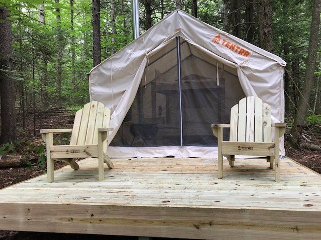 Tentrr Signature Site - Ohana Roots Camp at Sandy Pond, Forest Hideaway Site, holiday rental in Liberty