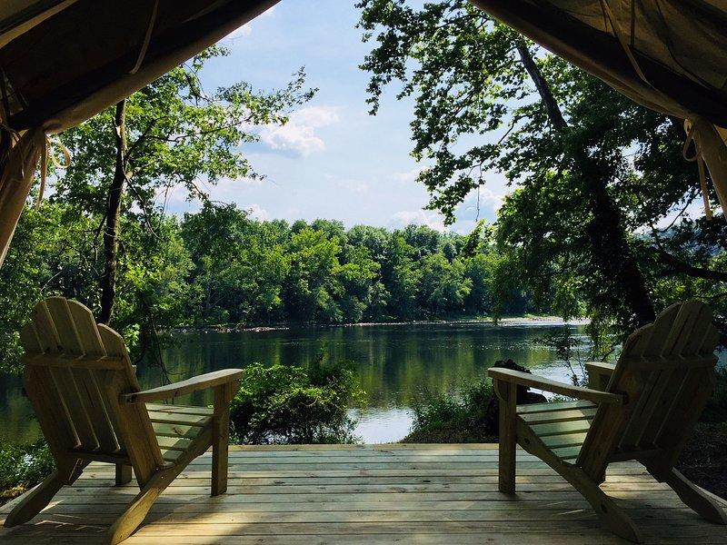 Tentrr Signature Site - Riverhouse Farm, aluguéis de temporada em Easton
