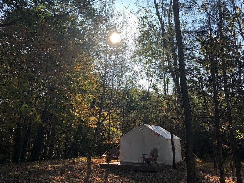 Tentrr Signature Site - Nockamixon Forest Camp, location de vacances à Upper Black Eddy