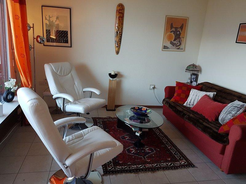 Appartement moderne de 2 pces de 42m avec balcon, dans résidence rénovée, aluguéis de temporada em Miege