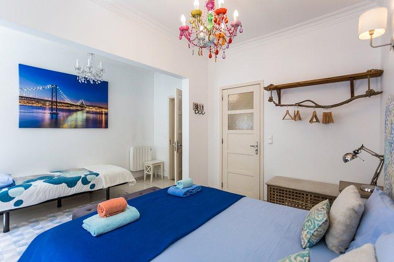 Adelaide Apartments - with a pátio, near Parque das Nações, holiday rental in Sacavem