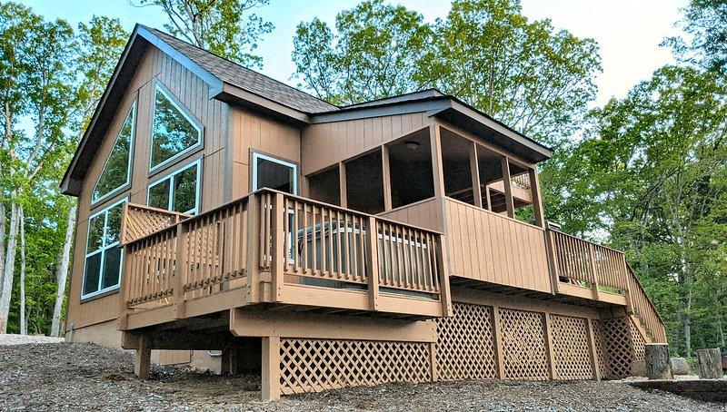 Eaglet Cabin near the Shenandoah River, location de vacances à Rileyville