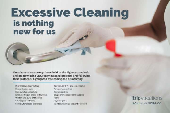 We are obsessive about our cleaning!