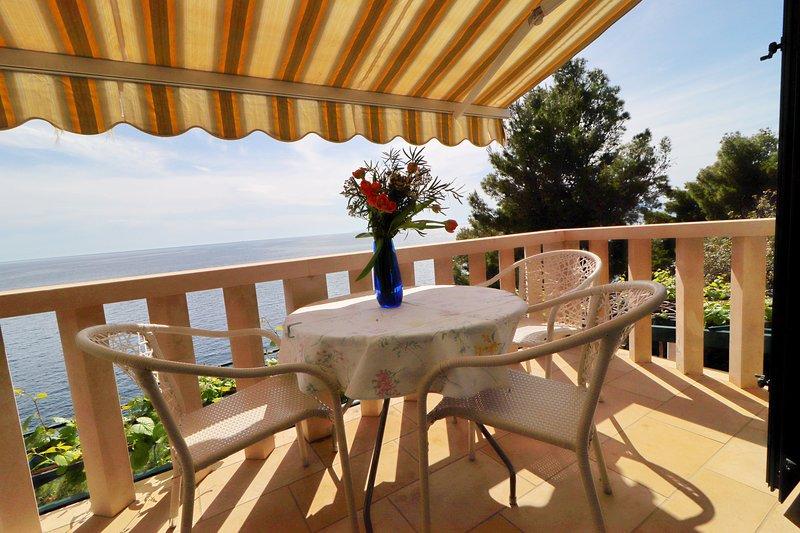 Apartments Plavac Mali- One Bedroom Apartment with Balcony and Sea View, aluguéis de temporada em Potomje