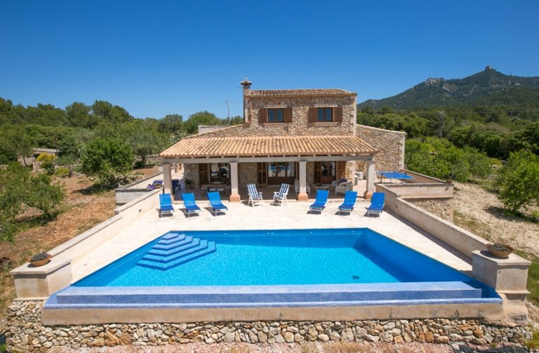S'olivar villa en Felanitx, vacation rental in Cas Concos