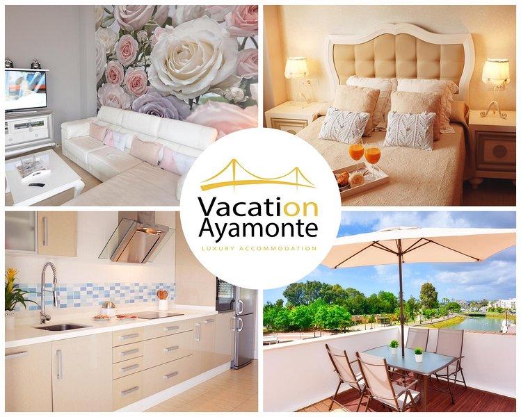 Marina Azul Center - Apartamento de lujo en El Centro de Ayamonte, location de vacances à Monte Francisco