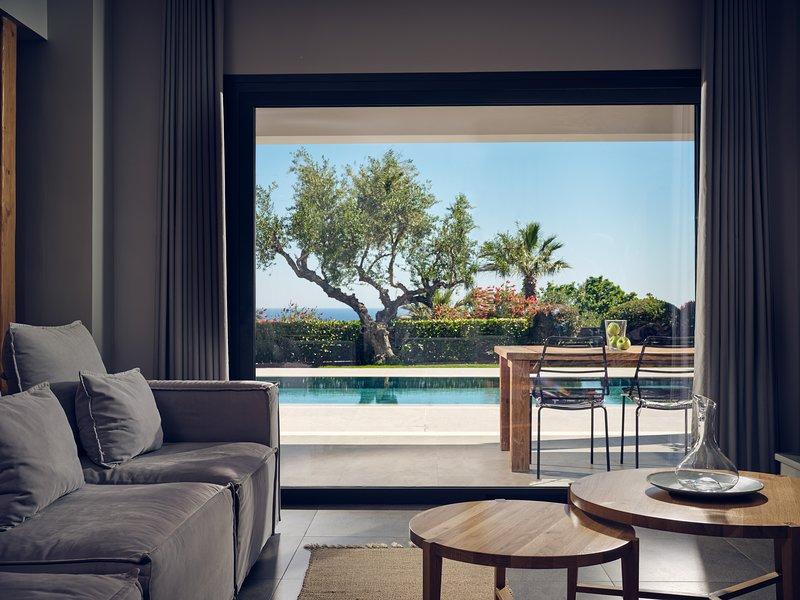 Cielo Luxury villas, villa Athina, alquiler vacacional en Zakynthos